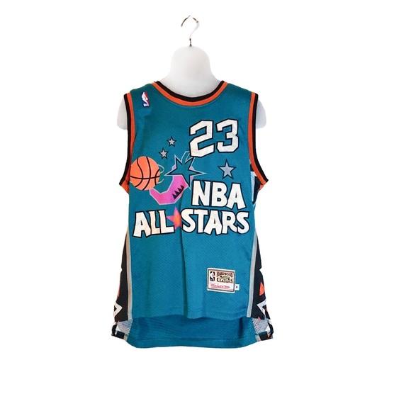 d858b6e6d7c Mitchell & Ness Shirts | Retro Michael Jordan 1996 All Star Jersey ...